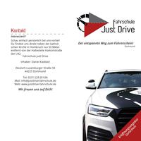 Just Drive Flyer