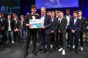 U17 erhält Nachwuchspreis bei der Wahl zu Dortmunds Sportler des Jahres