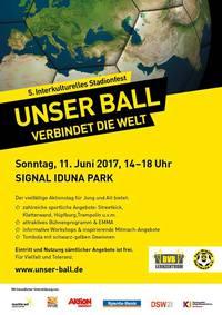 Unser Ball verbindet die Welt - Interkulturelles Stadionfest beim BVB
