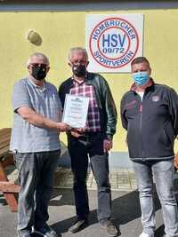 1.M. des Hombrucher SV 09/72 gewinnt den Fairnesspreis in der Saison 19/20 in der Landesliga Gruppe 3