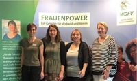 Dortmunder Quartett beim Frauen-Kongress in Duisburg